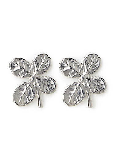 Four-leaf clovers earrings