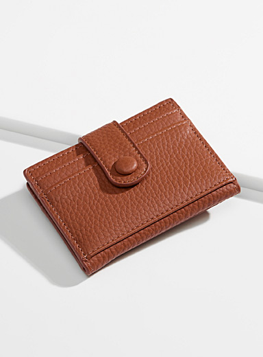 Folded card holder