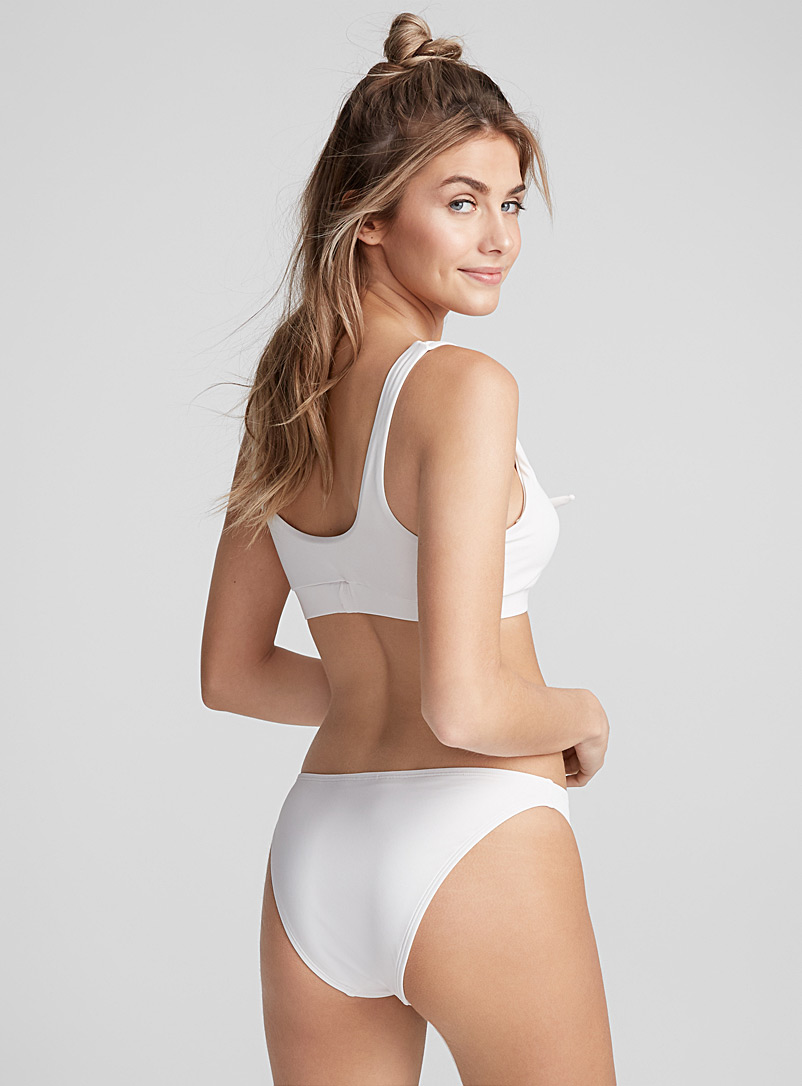 Cheeky high-cut bottom - Cheeky - Ivory White