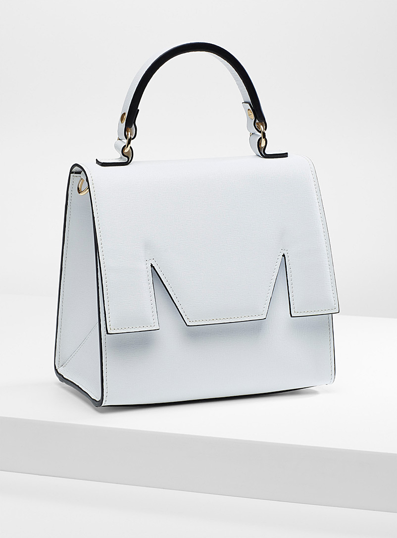 M medium bag - MSGM - White