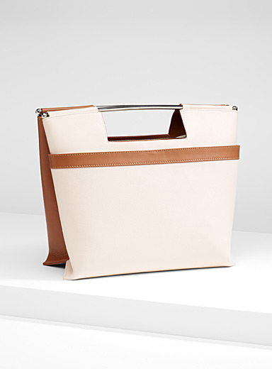 Midgret Bolso two-tone bag