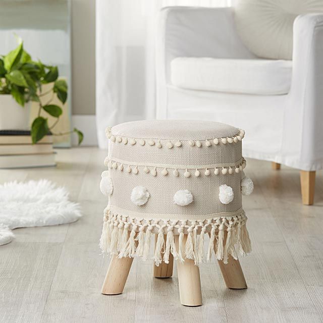 fringe-and-pompom-stool