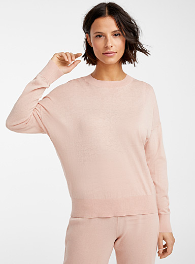 Natural colour sweater