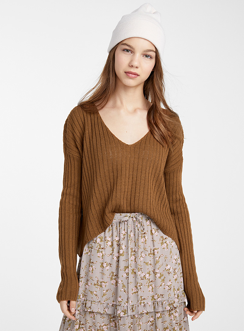 ribbed-openwork-cropped-sweater