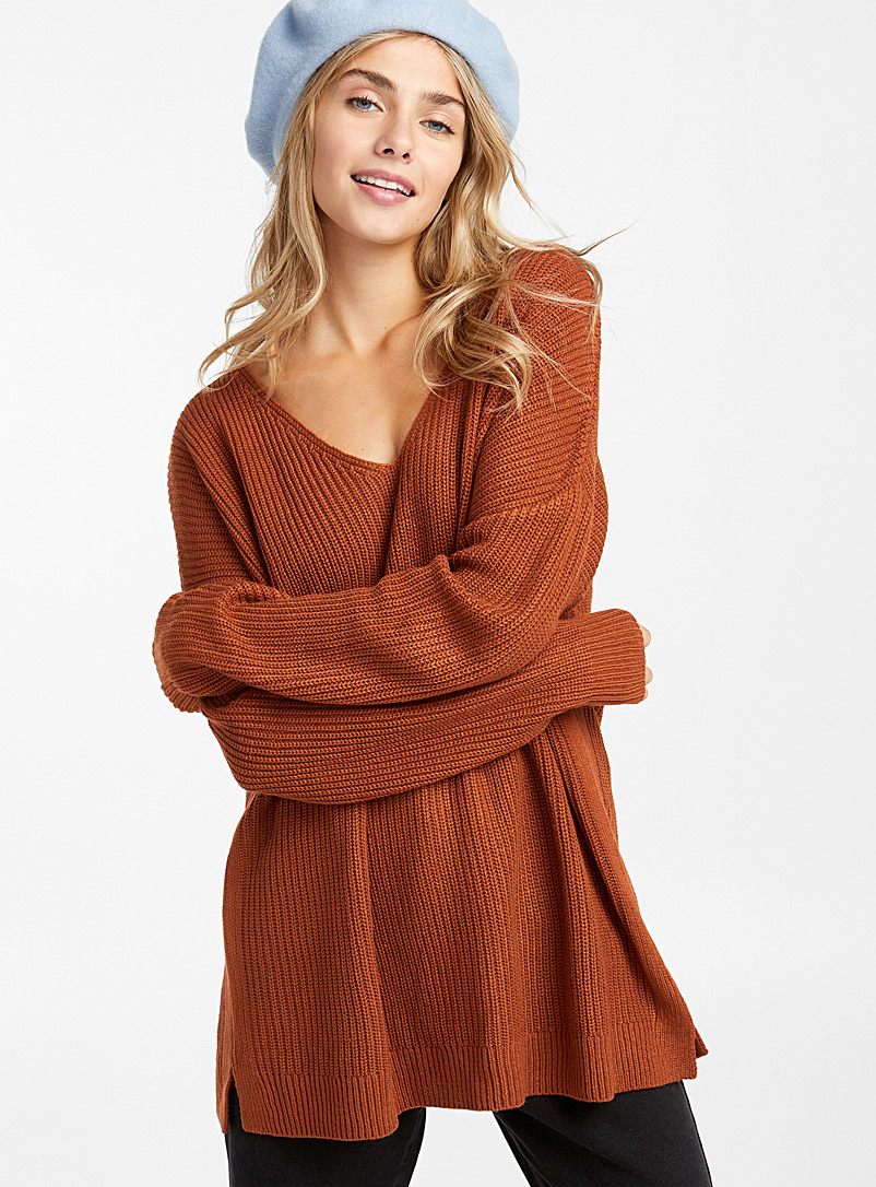 loose-ribbed-knit-v-neck-sweater