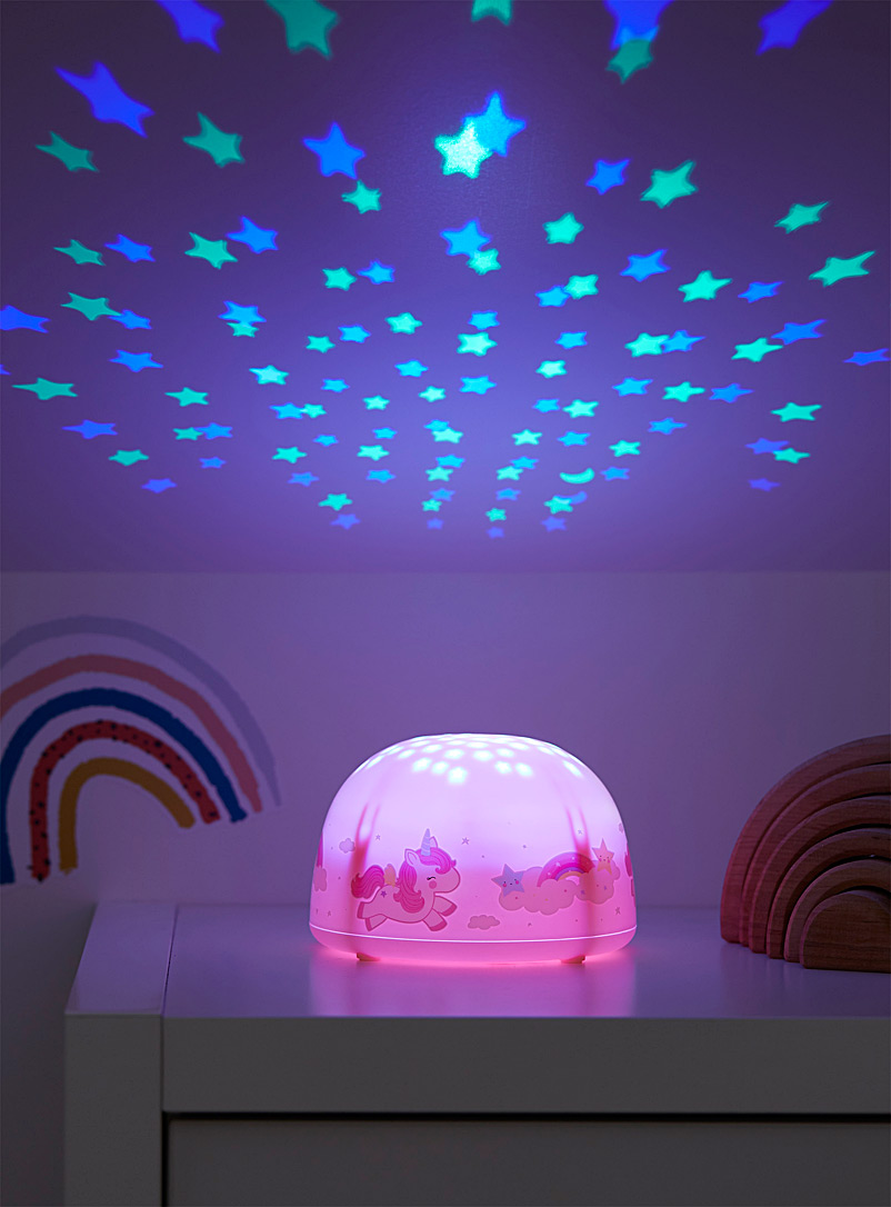 A Little Lovely Company Assorted Magical unicorn projector lamp