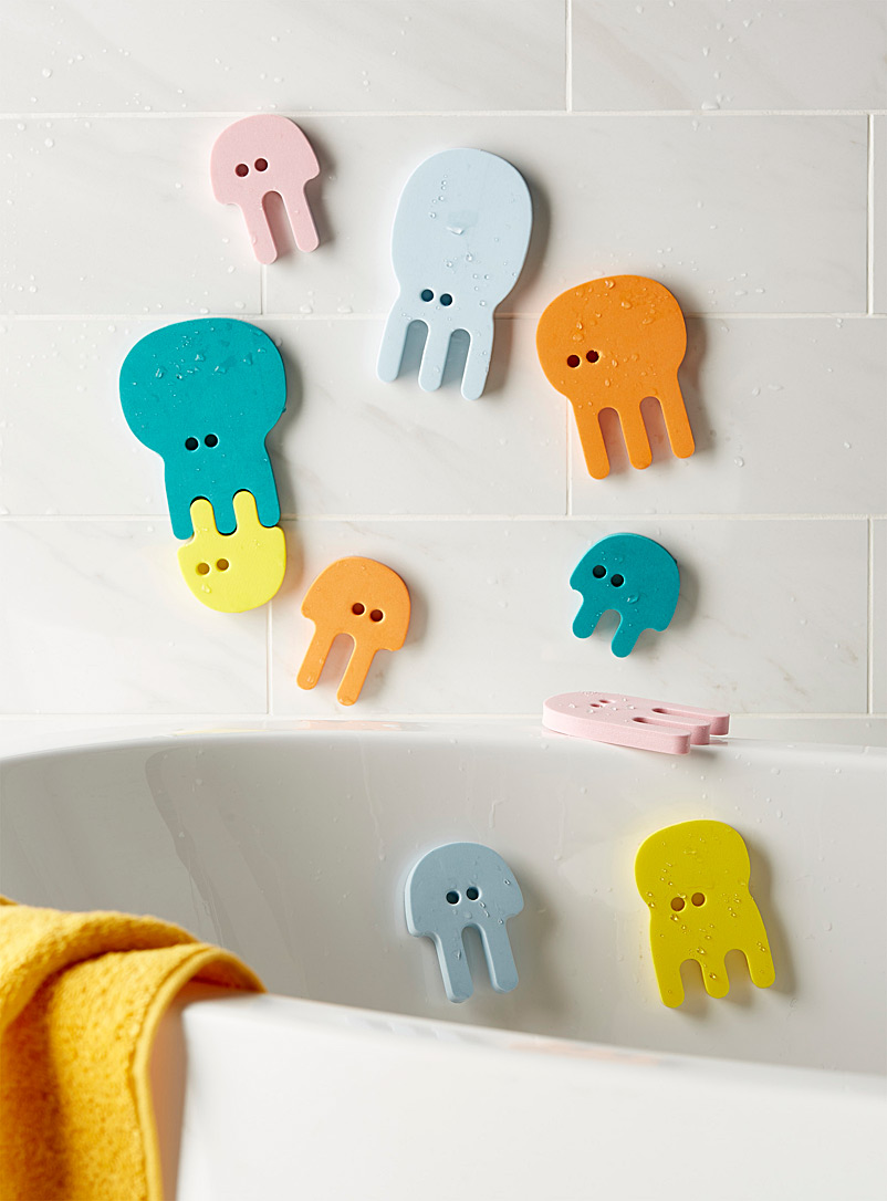 Quut Assorted Jellyfish bath puzzle  10-piece set