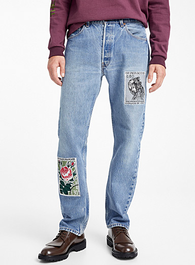 Vintage embroidery jean
