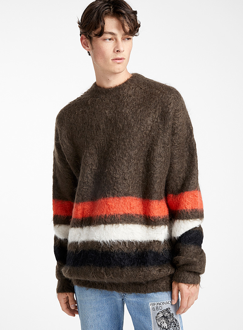 Oversized mohair knit - Children of the Discordance - Mossy Green