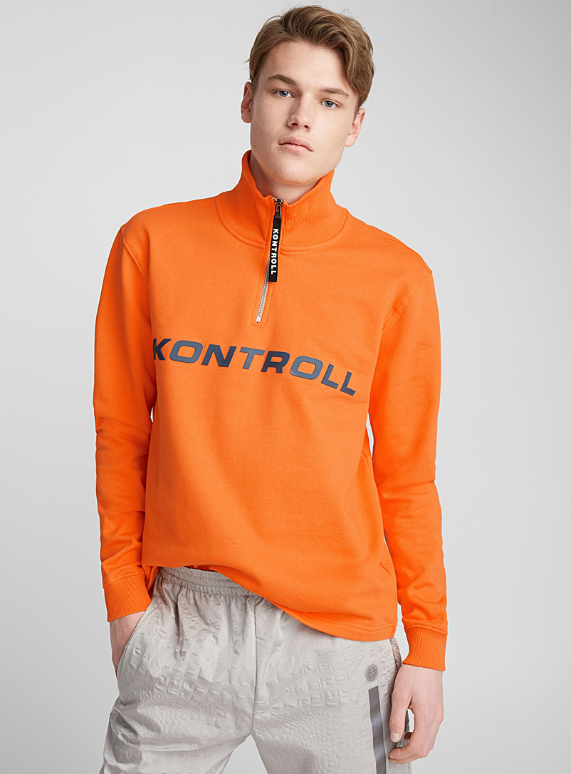 bright-orange-half-zip-sweatshirt