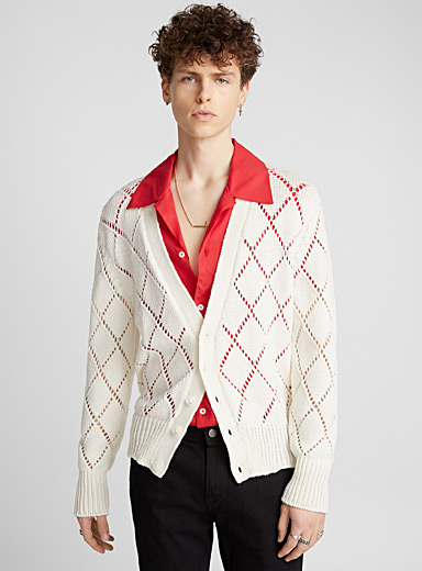 Diamond cardigan