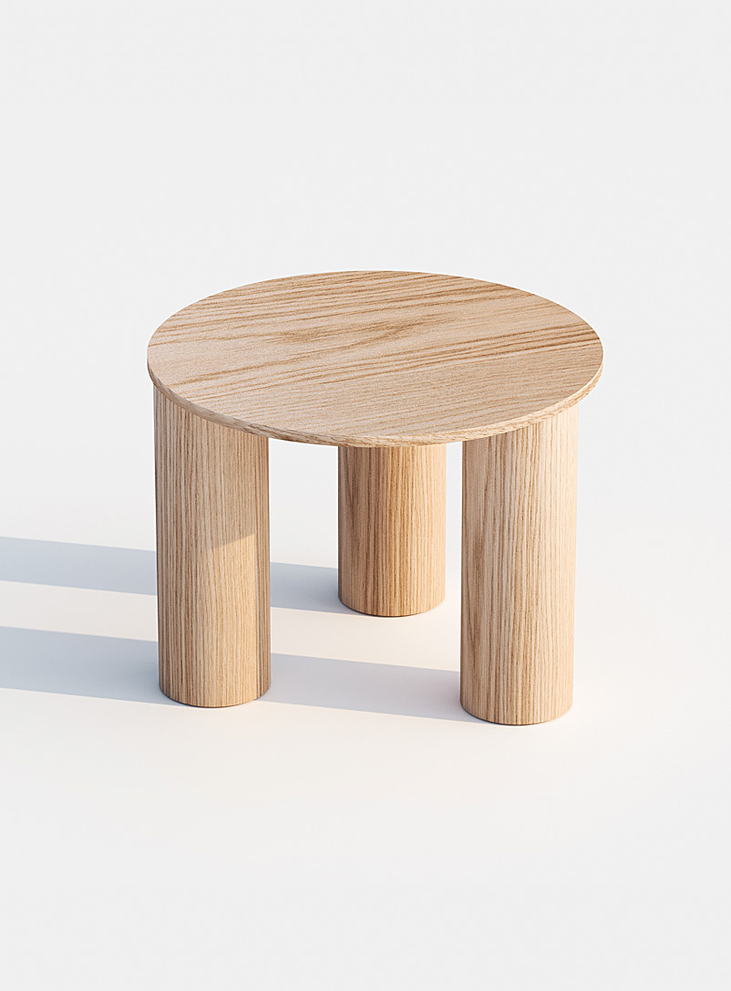 Found Oak Phant coffee table