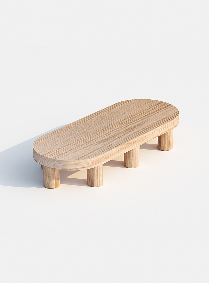Found Oak Wee coffee table