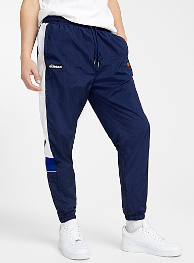 Graphic band windproof joggers