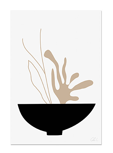 Ikebana poster  2 sizes available