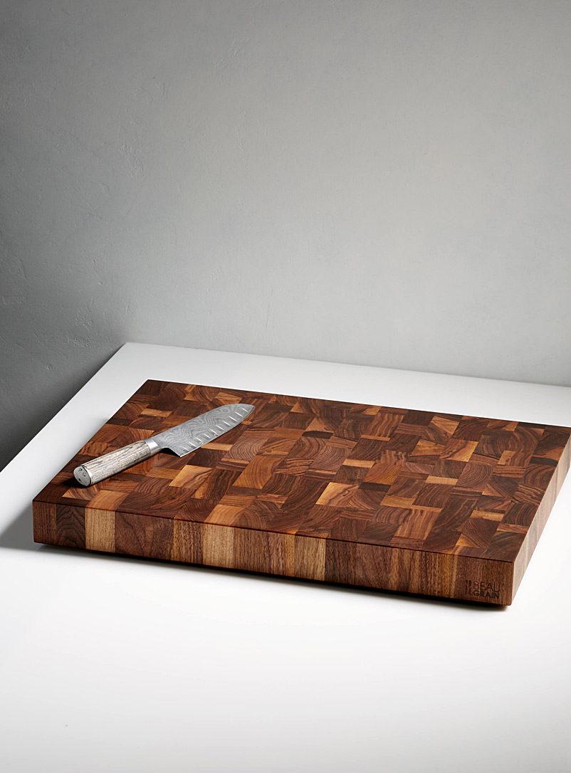 Black walnut chef's board  With 60 ml of balm