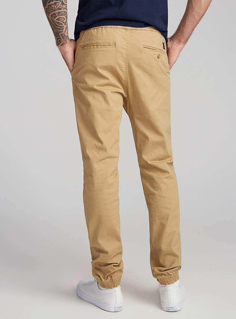 Jogger chinos  Skinny fit - Joggers - Ecru/Linen
