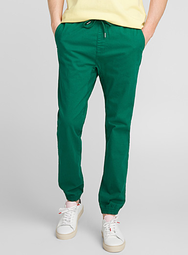 Coloured jogger chinos <br>Skinny fit