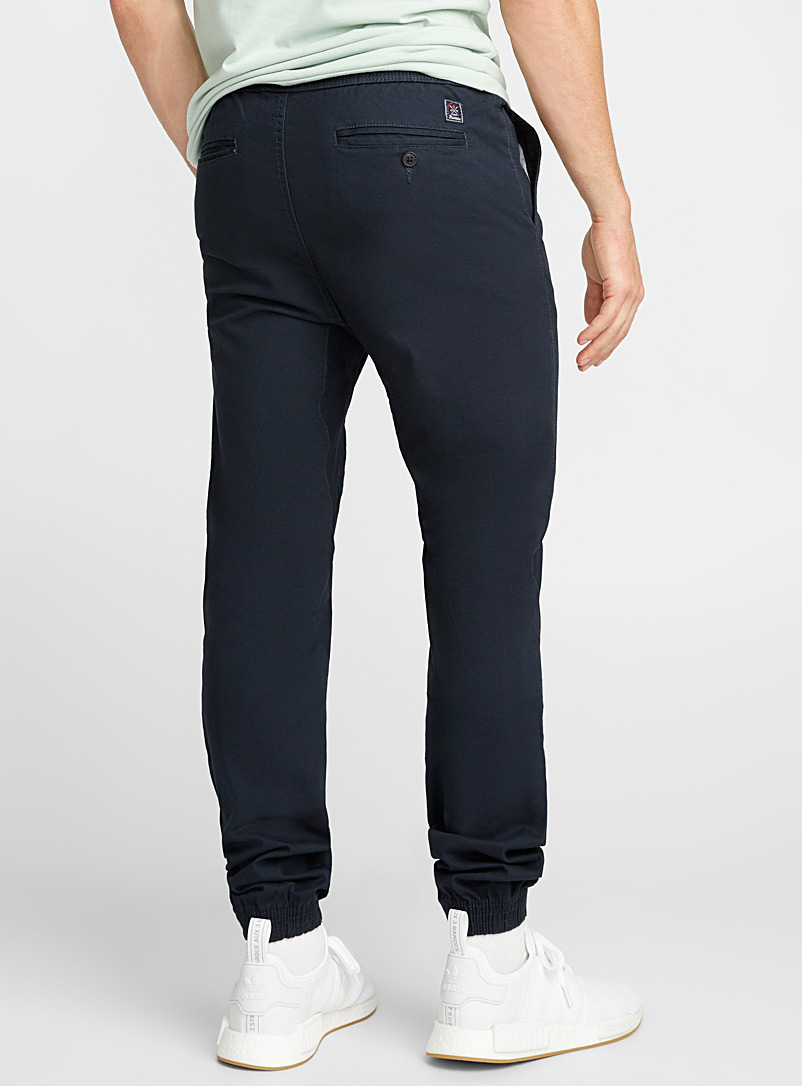 Coloured jogger chinos  Skinny fit - Joggers - Marine Blue