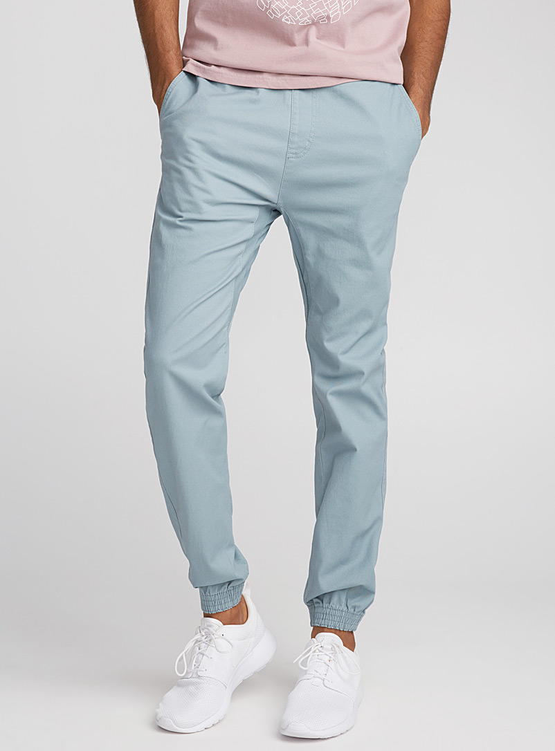 Coloured jogger chinos  Skinny fit - Joggers - Slate Blue