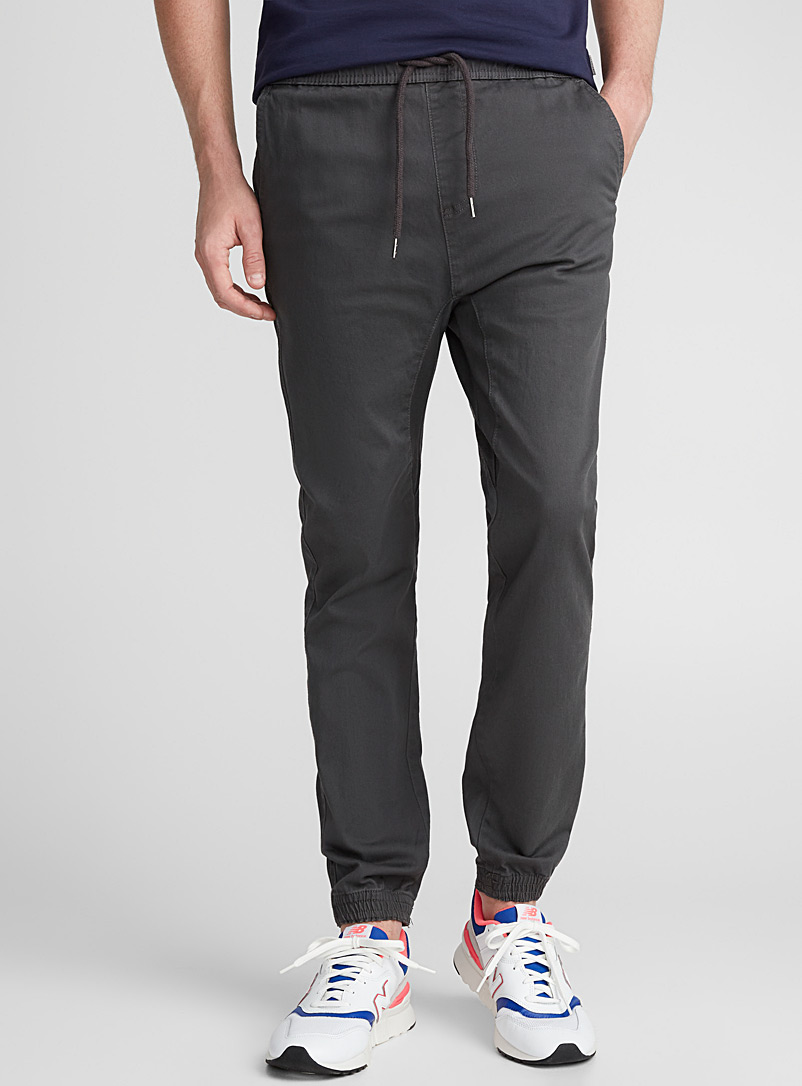 Jogger chinos  Skinny fit - Joggers - Dark Grey