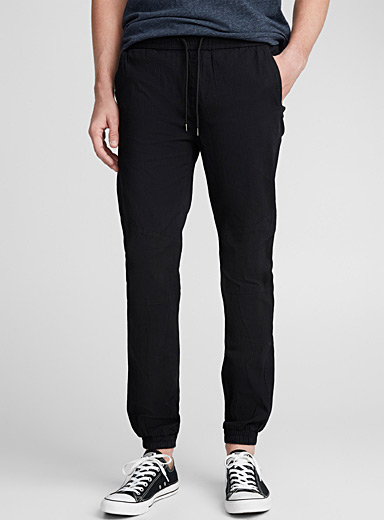 Ripstop fabric joggers