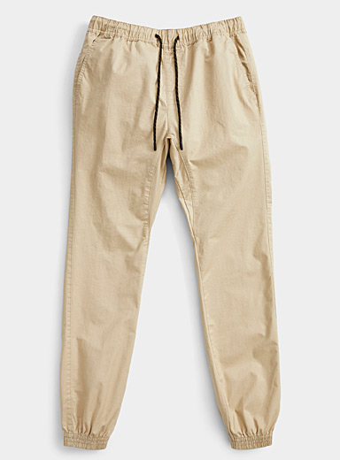Rumors Sand Organic cotton jogger chinos  Skinny fit for men