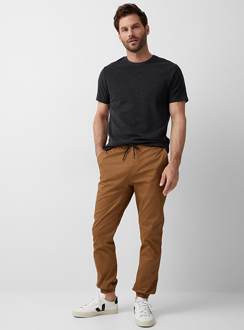 Rumors Fawn Organic cotton jogger chinos  Skinny fit for men