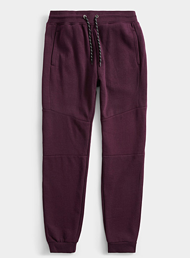 Graphic seam sweat joggers