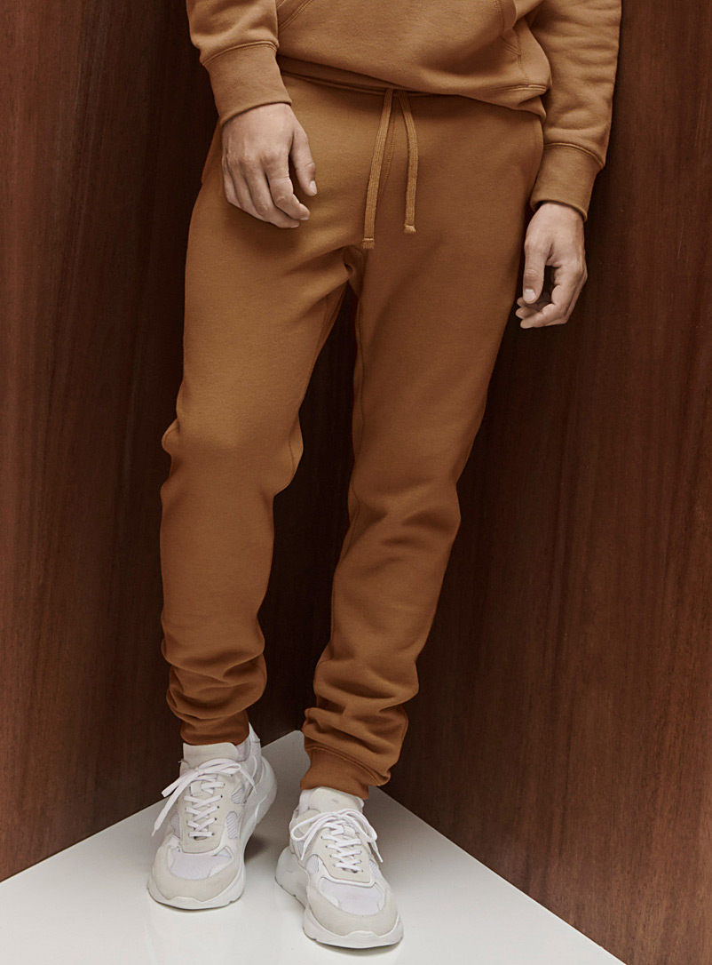 Le 31 Fawn Minimalist sweatpant for men