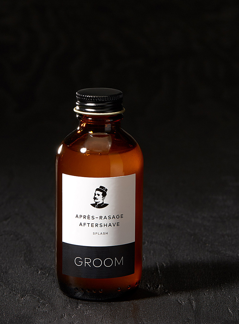 Les industries Groom: Le splash après-rasage Assorti