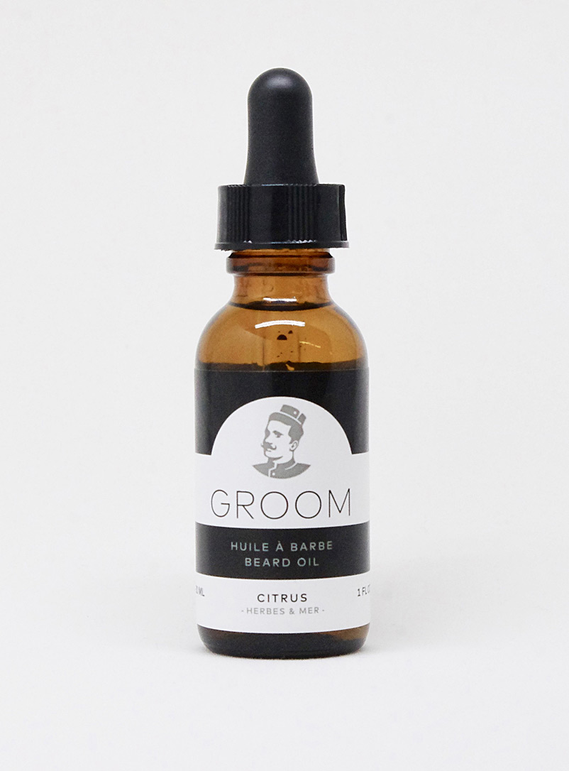 Beard oil - Les Industries Groom - Citrus