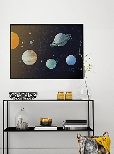 Solar system poster  2 sizes available