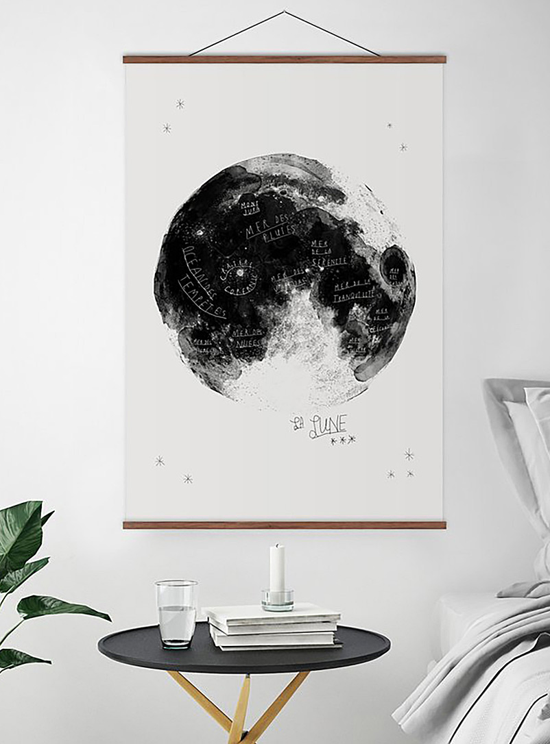 La lune art print  2 sizes available