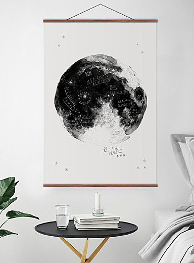 Moon poster <br>2 sizes available