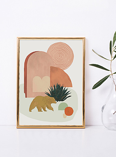 California bear poster <br>2 sizes available