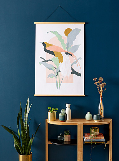 Arcade Greater Bird-of-Paradise art print  2 sizes available