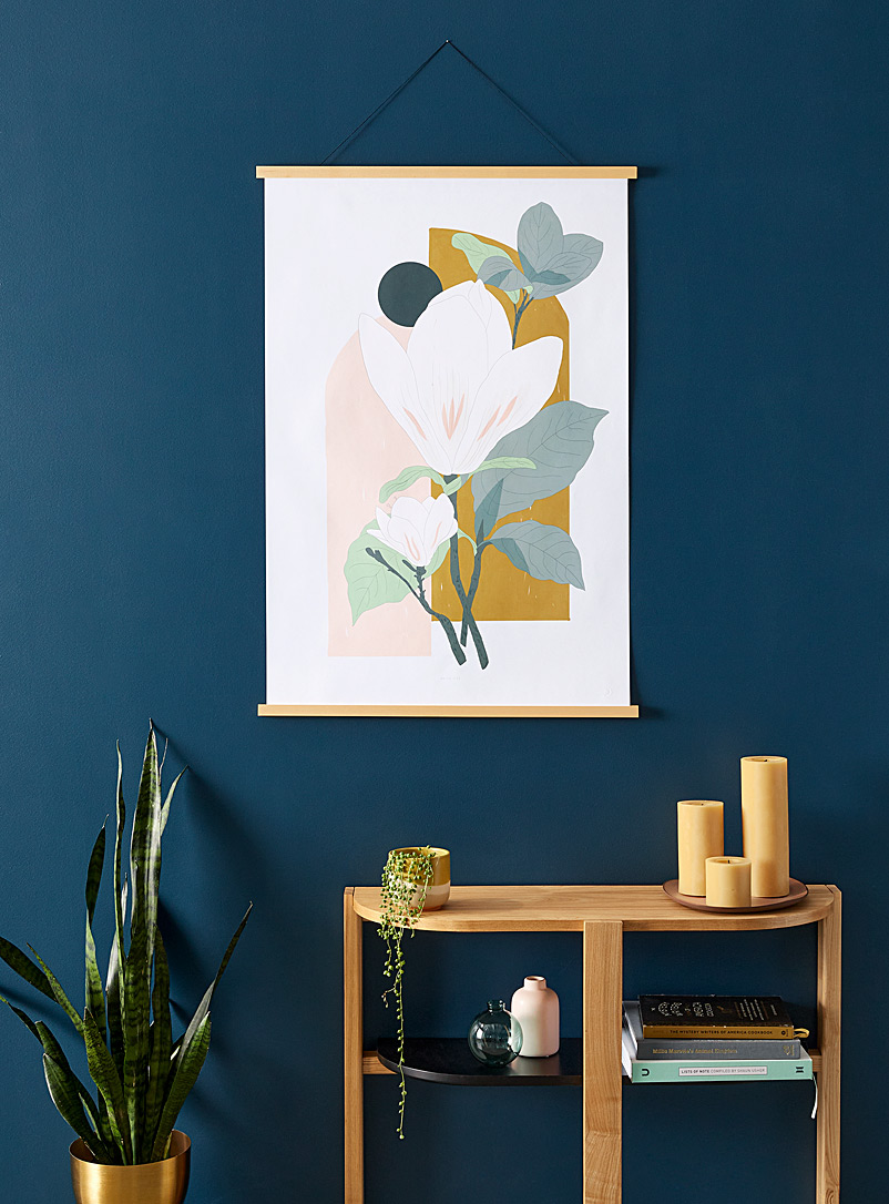 Arcade Magnolia art print  2 sizes available