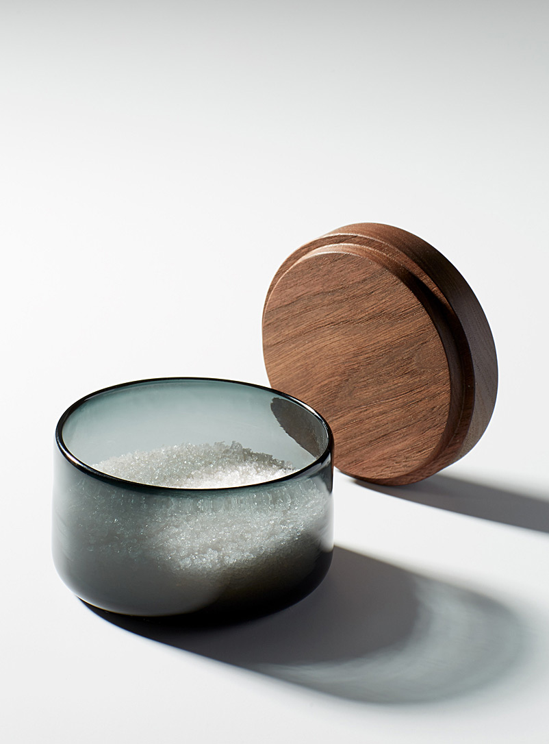 blown-glass-and-wood-salt-cellar