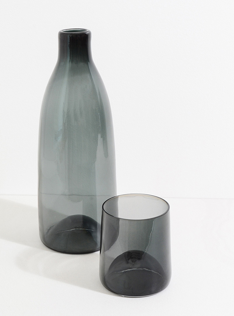 A + J Métissage Grey Water serving set