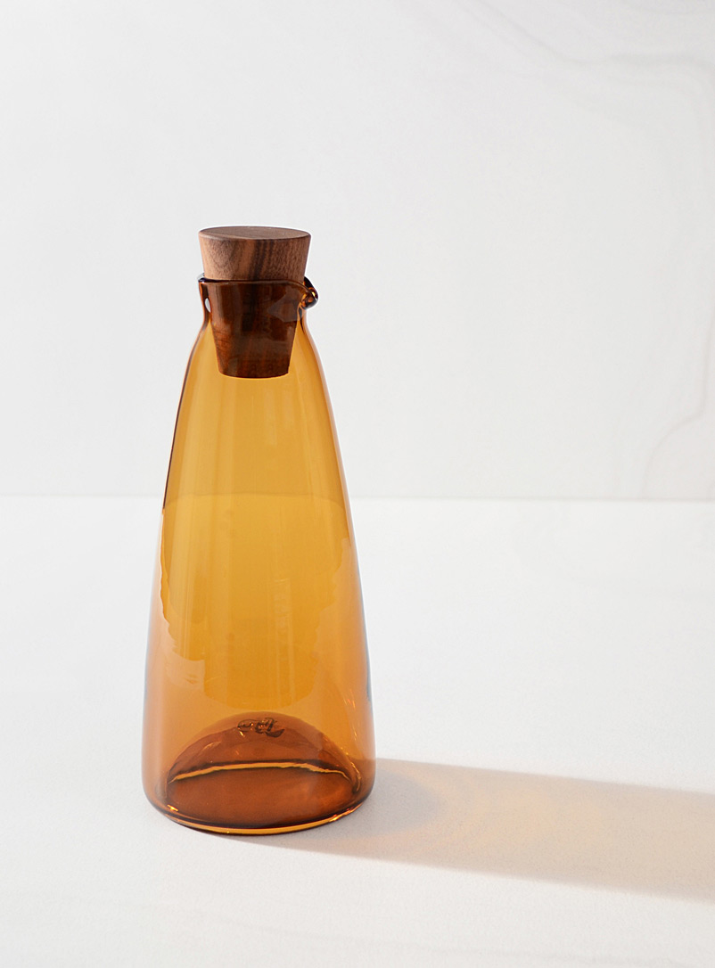 A + J Métissage Amber Bronze Maple syrup jar