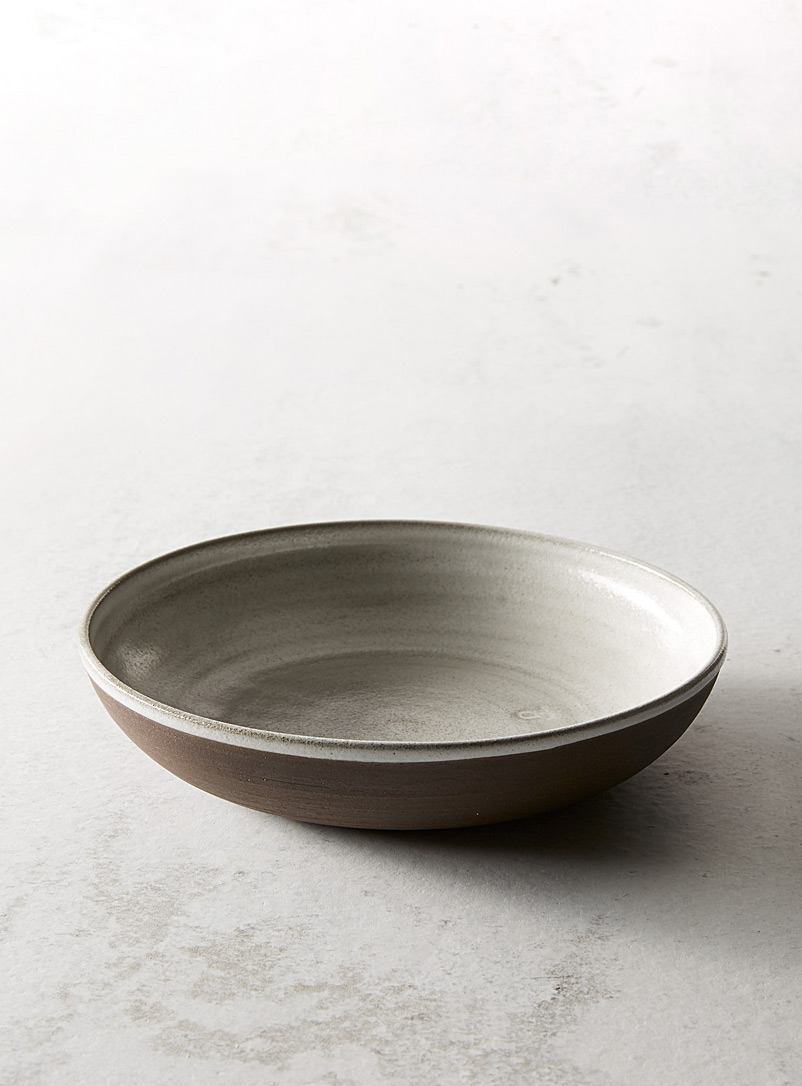 Ceramic dinner bowl - A+J Métissage - Medium Brown