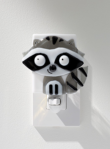 Gaston the raccoon nightlight