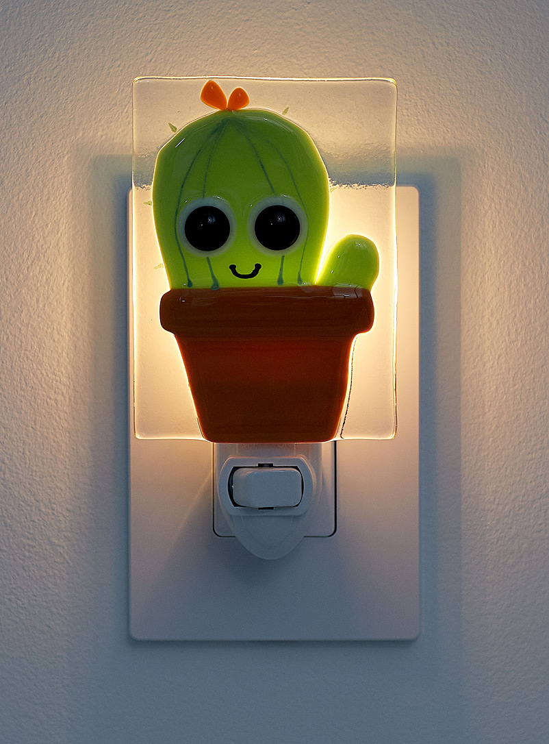 Gus cactus nightlight - Veille sur toi - Assorted