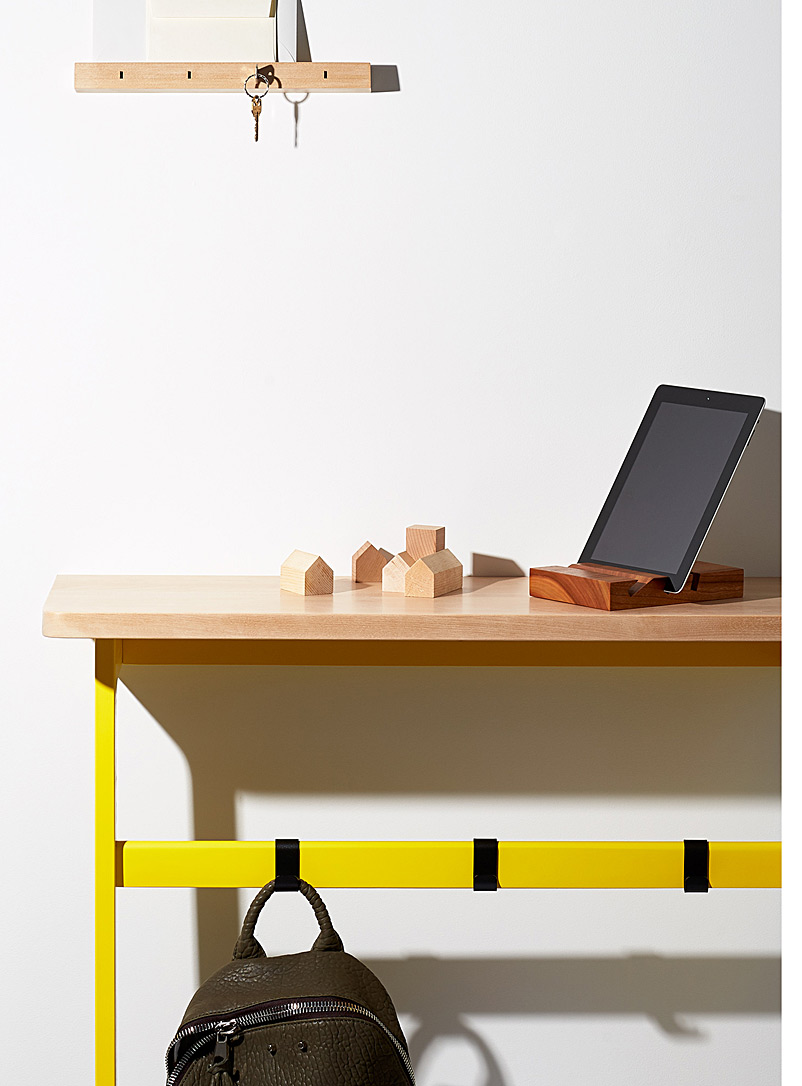 Us & Coutumes Medium Yellow C5 console table