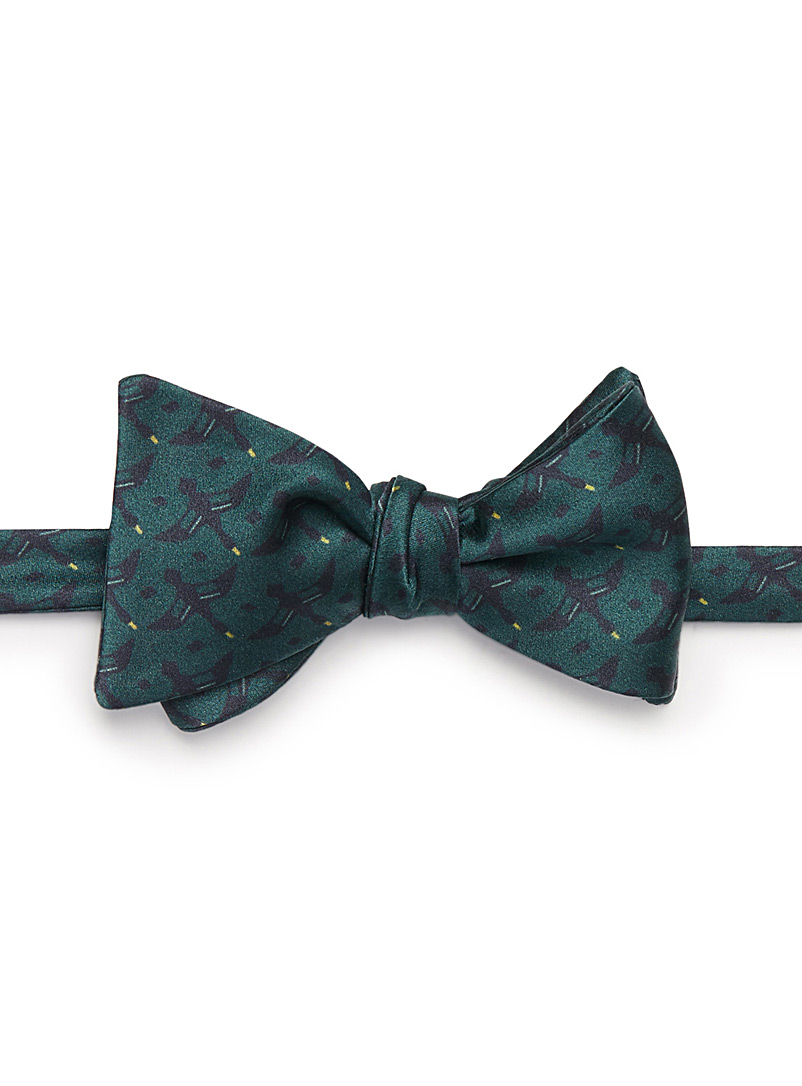 Morin bow tie - Bow Ties - Mossy Green