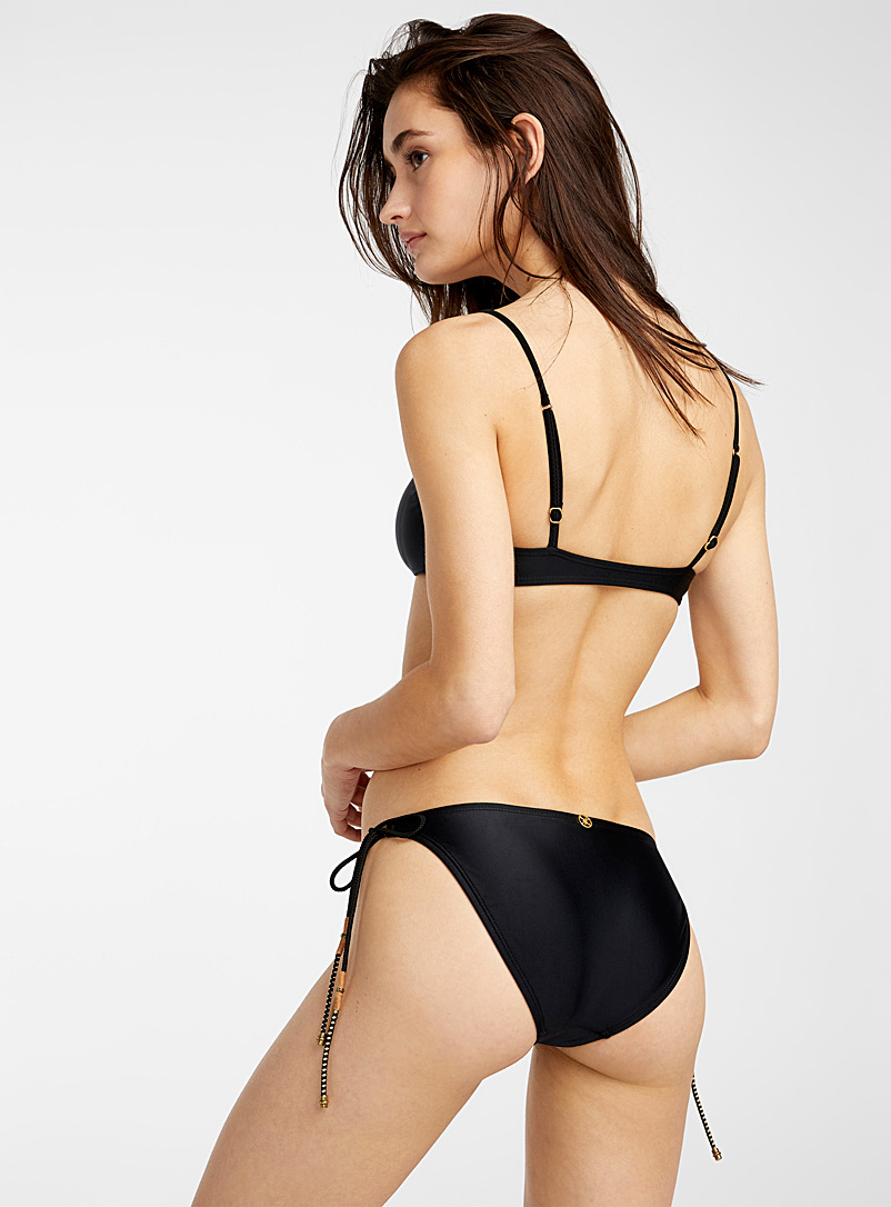 Vix Black Manon bikini bottom for women
