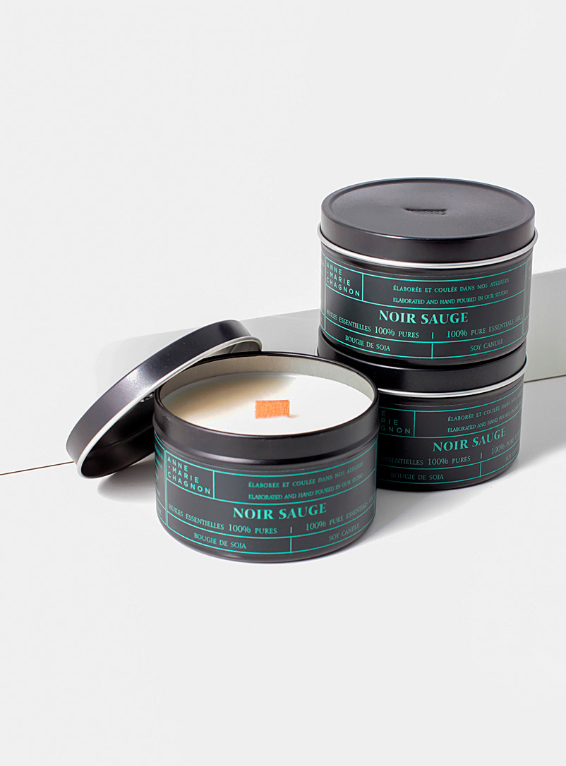 Anne-Marie Chagnon Green Essential oil scented candles Set of 3