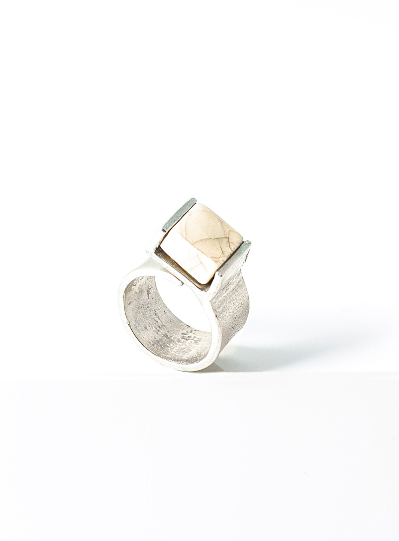 Anne-Marie Chagnon White Bella ring