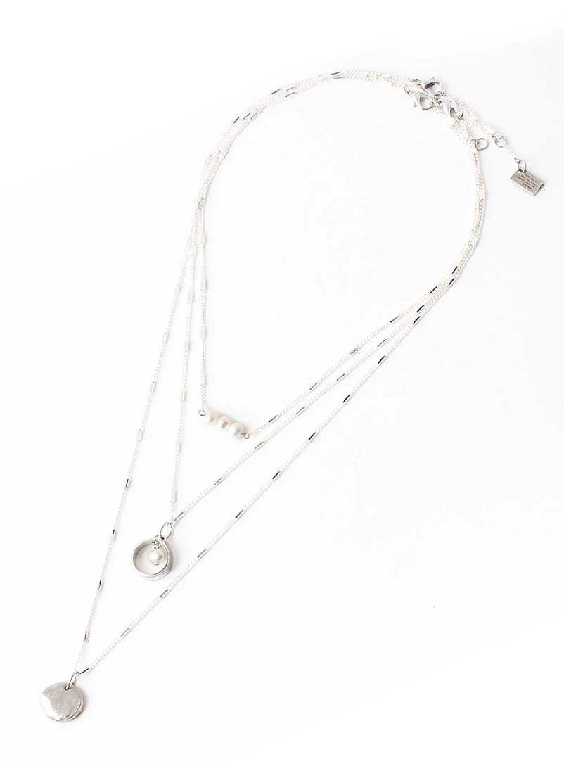 Anne-Marie Chagnon Pearly Jack necklace Set of 3